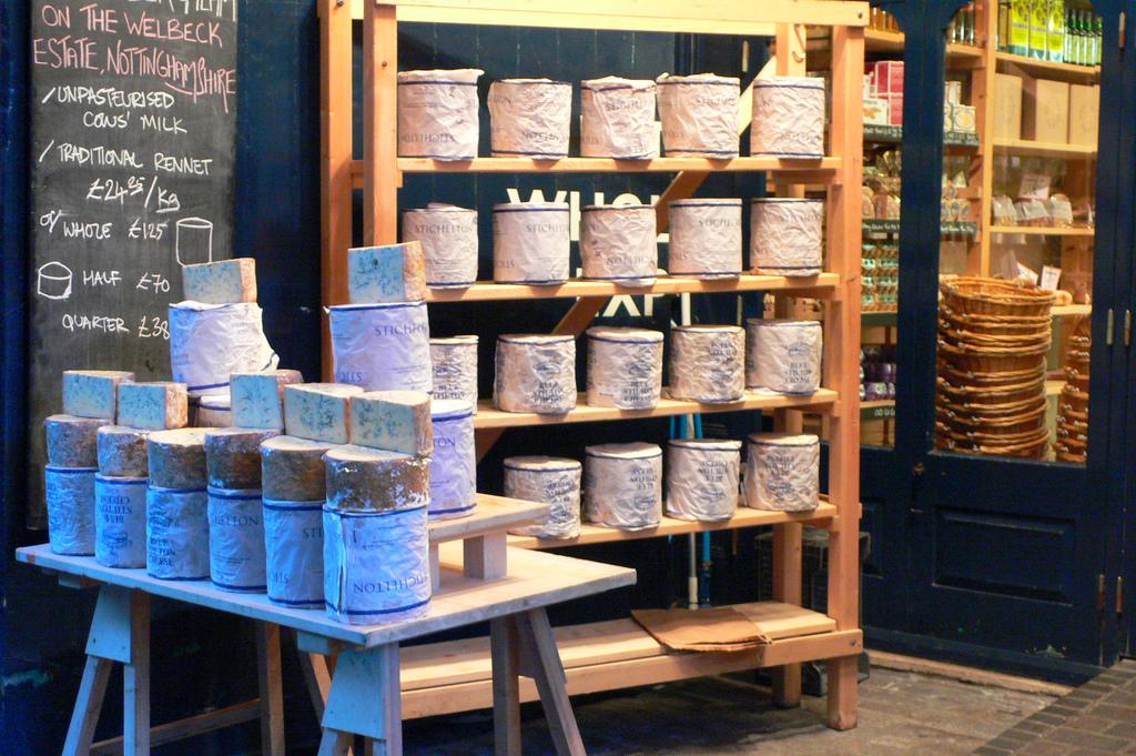 Neals Yard Dairy Cheeses