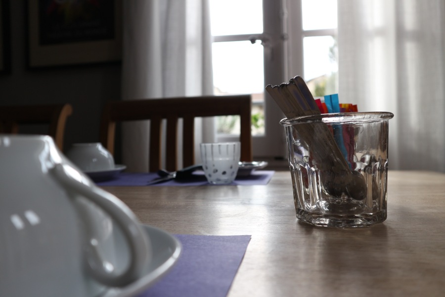 Cote Square Breakfast Table
