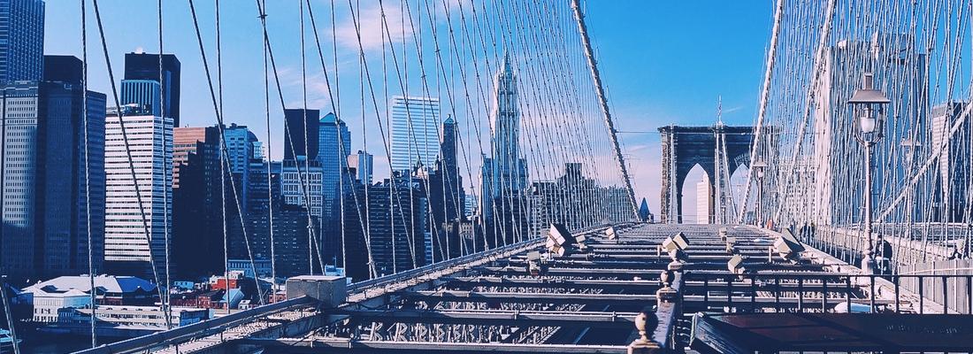 New York Brooklyn Bridge