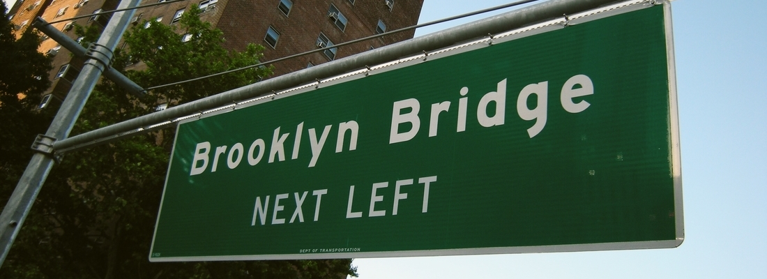 Brooklyn street sign