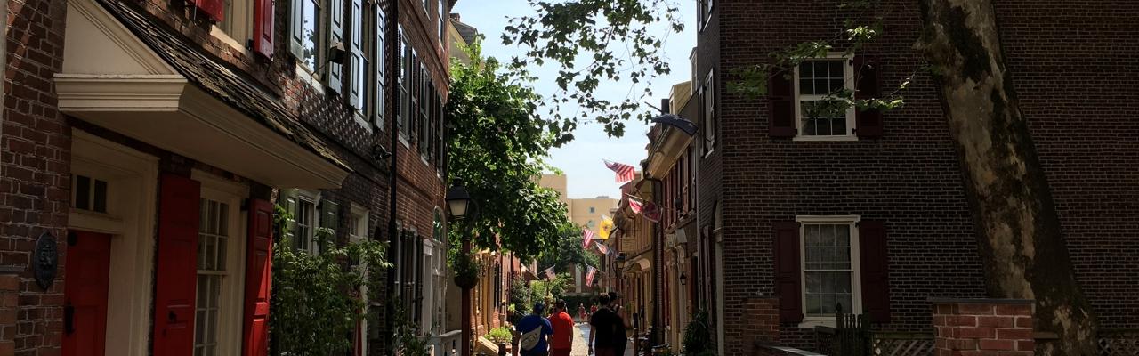 Philadelphia Elfreths Alley