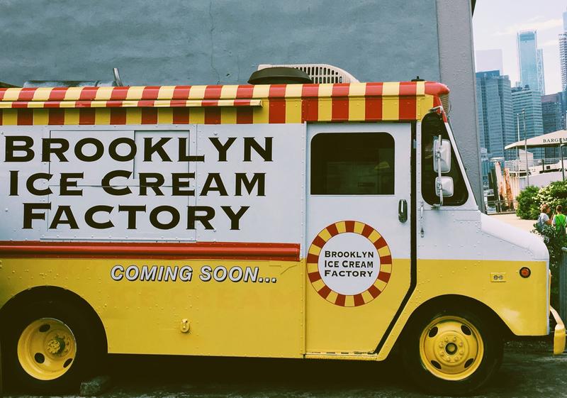 New York Ice Cream Van