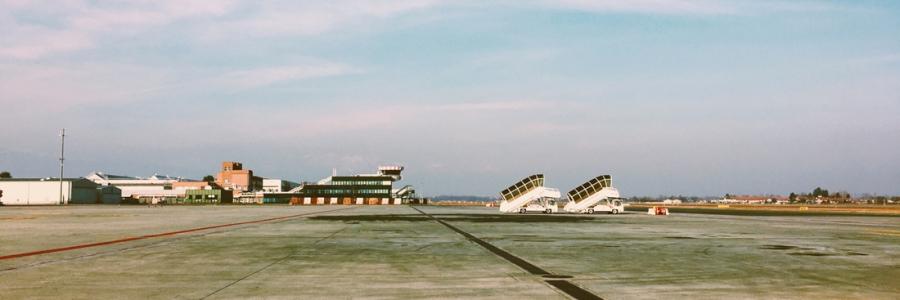 Aeroporto pista Caselle
