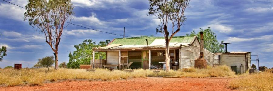 Dormire posti insoliti Australia Ghost House