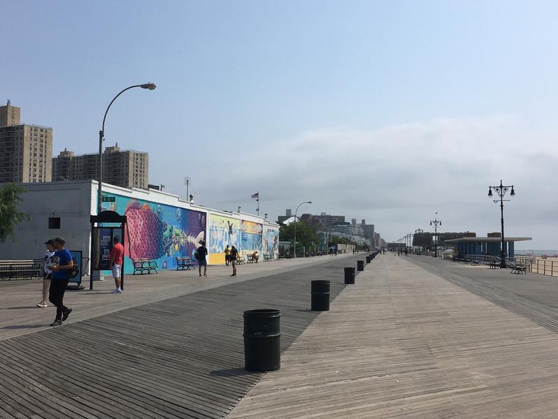 Coney Island Murales