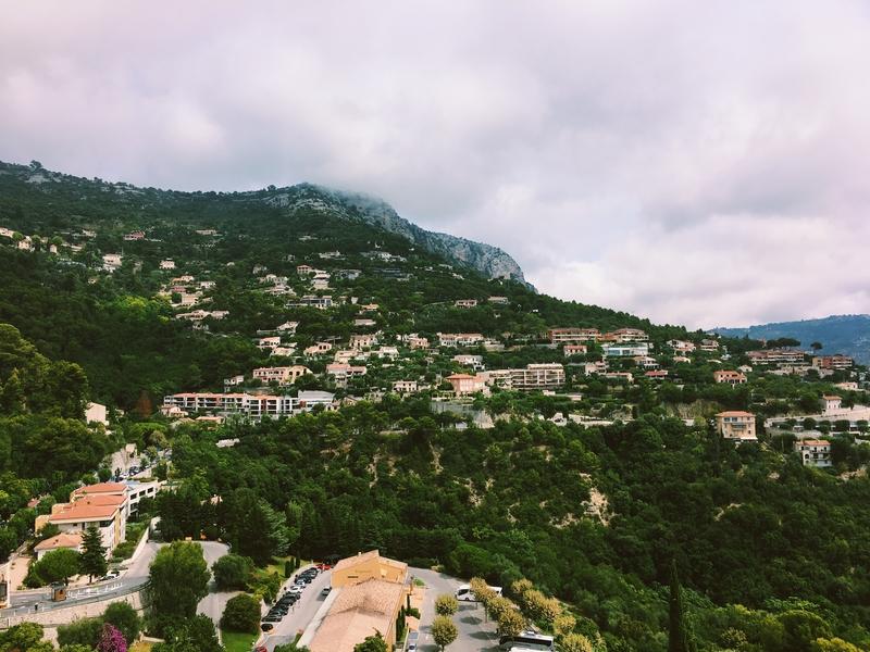 Eze Costa Azzurra panorama