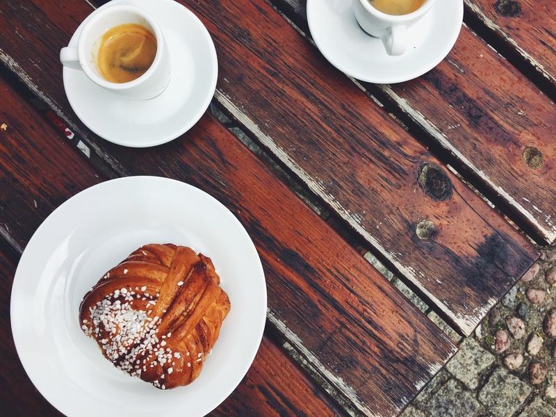 Coffee kanellbulle fika
